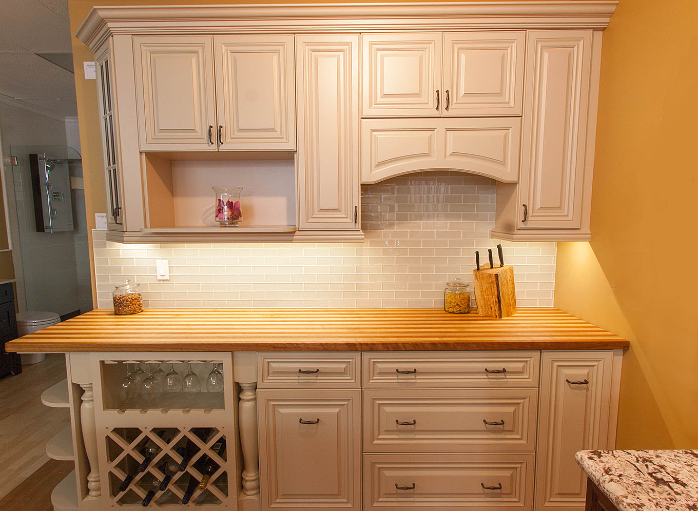 Custom Butcher Block Kitchen Countertops Kitchen Renovations Design Ideas - Your Home Renovation Experts